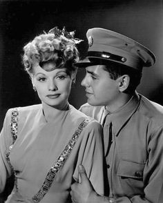Lucille Ball and Desi Arnez - Though their marriage didn't last, they loved eachother their whole lives and she cared for him when he was dying.