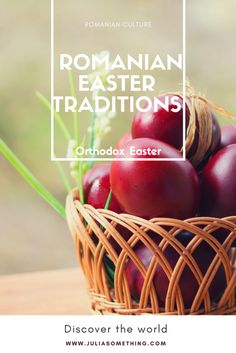 5 #easter traditions Romanians love and still hang on to!   Read this if you want to know what to expect if you are coming for Easter in Romania!  #RomaniaEaster #Romania   http://juliasomething.com/romanian-easter-traditions/