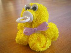 Duck Ducky Washcloth Bab...