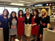 The ladies of Action News color coordinated on 4th of July