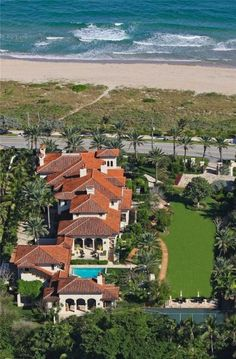 Actor Kevin James plunked down $18.5 million in July 2012 for this exquisite beachfront home at 502 North Ocean Boulevard in Delray Beach