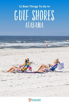 Want to visit Gulf Shores? Here are 12 of the best things to do in Gulf Shores and Orange Beach Alabama, including tips on where to eat, where to drink, and places to stay. Don't visit Alabama on your beach vacation until you read this Gulf Shores travel guide! #GulfShores #Alabama #OrangeBeach #travel #vacation #beachvacation #familytravel