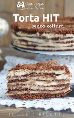 Quick cake without cooking. Very Good Cake Hit - Rezepte Bow Bakery Recipes, Pie Recipes, Sweet Recipes, Dessert Recipes, Cooking Recipes, Quick Cake, Cake Servings, Desserts To Make, Sweet And Salty