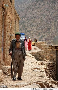 Kurdish People of the Hajij Village in the Province Kurdistan, Iran.
