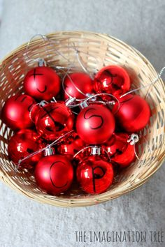 Add a little creative literacy play to the festivities this Christmas with some alphabet decorations! Fun phonics activity for preschoolers and school age