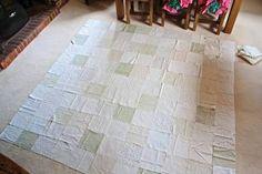 técnicas de patchwork colcha tecido com crochê - Pesquisa Google