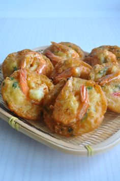 Crispy Prawn Fritters 炸虾饼 - Eat What Tonight Prawn Recipes, Shellfish Recipes, Seafood Recipes, Asian Recipes, Appetizer Recipes, Snack Recipes, Cooking Recipes, Snacks, Chinese Recipes