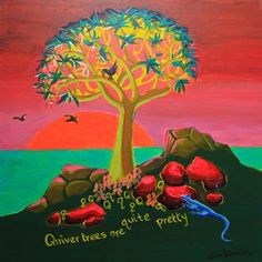 Q is for Quiver Tree....'Quiver Trees are quite pretty'