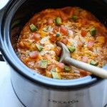 Permalink to: Slow Cooker Enchilada Stack