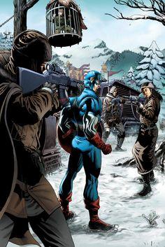 Captain America (Steve Rogers) by Jack Herbert