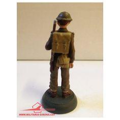BRITISH ARMY. SOLDADO DE INFANTERIA. GRAN BRETAÑA 1943. ALMIRALL PALOU. SOLDADOS 2ª GUERRA MUNDIAL.