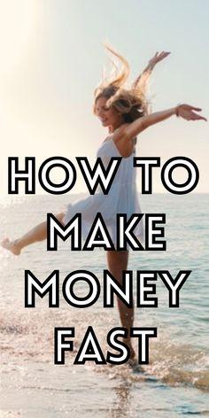 Easy ways to earn money quickly. Ways To Earn Money, Make Money Fast, Legit Online Jobs, Hustle, Easy, Make Quick Money, Hustle Dance