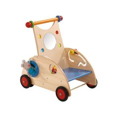 Discover our Haba toys from Germany. From beautiful baby clutching toys to intricate wooden blocks, Haba toys make the ultimate gift for any lucky child! Toddler Toys, Baby Toys, Kids Toys, Toddler Chair, Baby Play, Push Toys, Wooden Wheel, Play Vehicles, Green Toys