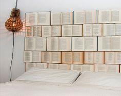 Imagen Cabecero cama libros del artículo Más de 90 Fotos de Cabeceros Originales…
