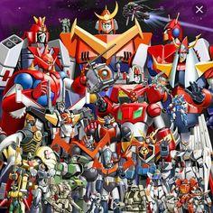 Big Robots, Cool Robots, Vintage Robots, Retro Robot, Manga Anime, Anime Eyes, Kaiju Size Chart, Gundam, Combattler V