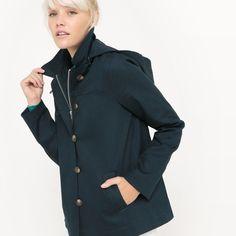 Manteau cuir femme la redoute
