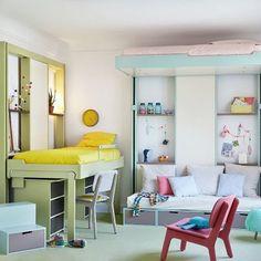 Le lit triptyque espace loggia lits escamotables for Place bureau catalogue