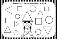 "Training and development of children - ""Fidget"" Preschool Worksheets, Preschool Activities, Training And Development, Math For Kids, Kindergarten, Coloring Pages, Shapes, Teaching, Education"