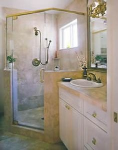 Photo Gallery of Bathroom Cabinets completed by CalFinder Contractors | Remodeling Ideas | Calfinder.com