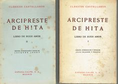 Libro de buen amor, 2 tomos - Juan Ruiz, Arcipreste de Hita ...