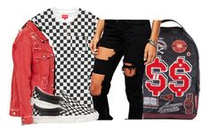 """"""""""" by retrovintagepizza ❤ liked on Polyvore featuring Forever 21, Liquor n Poker, Vans and Nephora"""