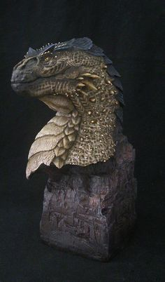 Dragonstooth Miniatures » Blog Archive » Riva Dragon Bust