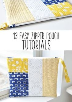 If there is one thing that I really do love to make it is zipper pouches. They are a quick sew and perfect for a handmade gift because everyone needs a new bag! I've made them in all shapes and sizes