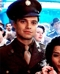 Bucky Barnes (I wish they wouldn't crop Jenna Coleman out, though...)
