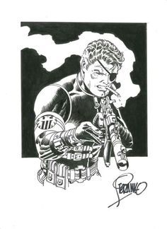 Nick Fury by Steranko!