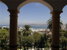 view from an El Minzah suite - Tangier, Morocco
