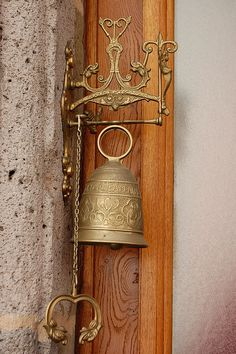 Doorbell, Auvergne  look familiar?  This is hanging at our back gate!