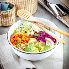 déjeuner au travail recette buddha bol de légumes et vinaigrette tahini lunchbox