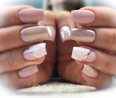 Sweet Nothing and Sweet Lace for etallicblondee Beautiful Nail Art, Gorgeous Nails, Pretty Nails, Hair And Nails, My Nails, How To Do Nails, Lace Wedding Nails, Wedding Makeup, Lace Nail Design