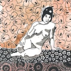 Life Patterns series - Life drawings with patterns Archives - Sandrine Pelissier