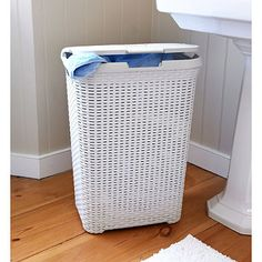 Faux Rattan Laundry Basket - from Lakeland
