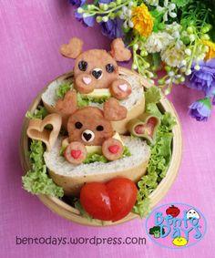 Sweetheart Bears Bento | Bento Days
