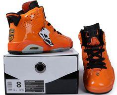 Jordans 6 Orange
