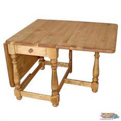 TABLE PLIANTE en Bois Massif Ciré : 160x90 cm | meublespin.fr Chamonix, Fold Down Table, Solid Pine, Surfboard Wax, Furniture, Woodwind Instrument