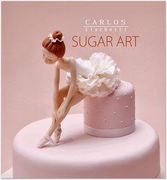 ❥Ballet Soirée. Ballerina sugar sculpture by Carlos Lischetti