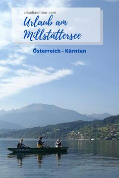 Am Millstättersee in Kärnten kann man rund ums Jahr Urlaub machen. Urlaub in Kärnten. Urlaub am Millstättersee.