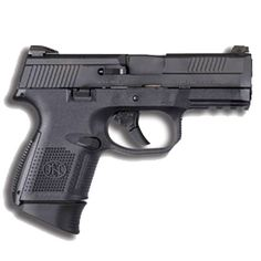FN FNS-9 Compact Semi Auto Pistol 9mm Luger 3.6 Barrel 17 Rounds No Manual Safety Fixed 3-Dot Sights Polymer Frame Black Finish 66719