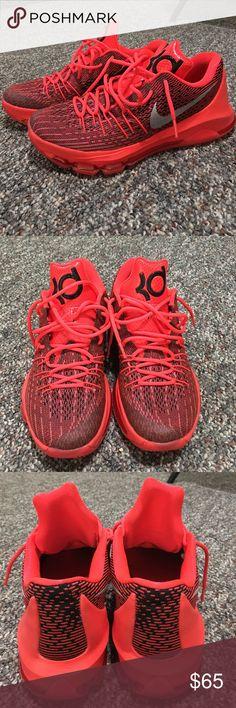 "Men's Nike KD 8 ""V8"" Nike KD 8 ""V8"" Bright Crimson/White-black. Very good condition. Men's size 8.5 Nike Shoes Athletic Shoes"