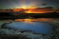 "Iceland Beautiful!   ""The Blue Pool"" by Kilian Schönberger"