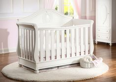 Transform your nursery into a real life fairytale with the Disney Princess Magical Dreams 4-in-1 Crib by Delta Children. With soft curving lines and charming princess-inspired carvings on the headboard and corners, this elegant crib with three mattress heights converts into a daybed, toddler bed and full size bed for years of happily-ever-after charm. Built from strong and sturdy wood, it's designed with beauty and safety in mind, and is JPMA certified which means this crib has been tested…