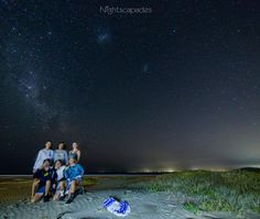On instagram by nightscapades #astrophotography #unas (o) http://ift.tt/1kZarC7 10 2016. Beach crew. Tonight (Sunday 10th) I drove 110km to do some shooting away from the city lights down at Gerroa Beach. I'd just started a time-lapse sequence when these guys came along shining their very bright LED torch (flashlight) at me & right down the camera lens. Although I was ticked off at having to stop the timer & reset I showed them a few stills then asked if theyd like to be in a shot. They were…