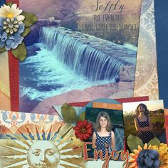 Kit used: Summer Sunset by Sherwood Studio available at http://www.thedigichick.com/shop/Summer-Sunset-Bundle.html  Template by Aprilisa.
