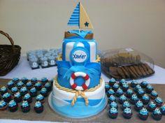 Naticaul Baby Boy Shower cake
