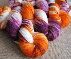 This yarn is called Molly Weasley, and this lady has a whole Harry Potter line of yarn that I think I have to have.