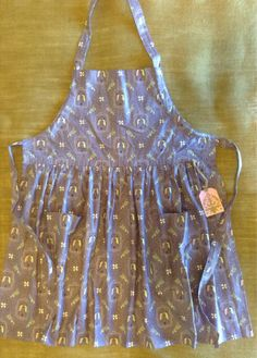 South Dakota made full apron!  Brookings, SD  Mary makes Adjustable Full Apron by ThePracticalPeddler on Etsy, $30.00