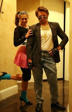 George Michael and groupie costumes. We have any look you want to create. From true Vintage Clothing, Wigs and Accessories: Ridiculous, Huge & Gaudy. 80s Theme Party Outfits, 80s Party Costumes, 80s Halloween Costumes, 1980s Costume, Hallowen Costume, Theme Halloween, Costume Shop, 80s Fashion Party, 80s Womens Fashion